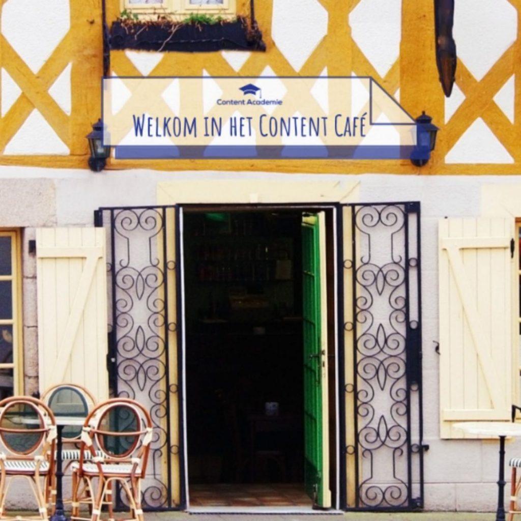 content café burn-out preventie